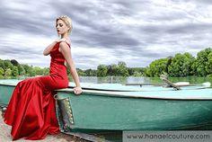 Robe de cocktail, collection Garance   Création Hanael Couture©   Crédits photo : Ange de vie