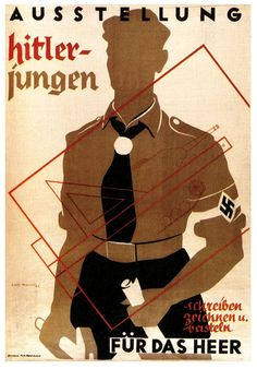 poster,Arts and Crafts Exhibit by Hitler Youth,