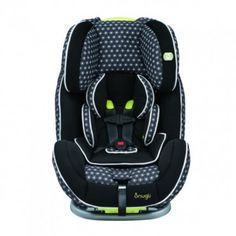 By combining comfort and security, the accommodating Evenflo Snugli All-In-One Car Seat is the only car seat you'll need.