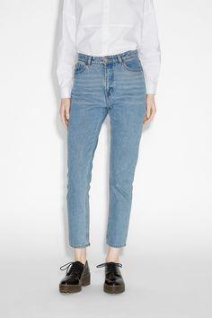 Monki Image 2 of Kimomo jeans in Blue