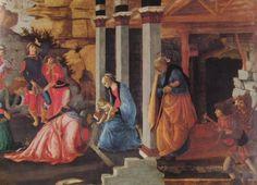 Adorazione dei magi(part)-Sandro Botticelli( National Gallery di Londra)
