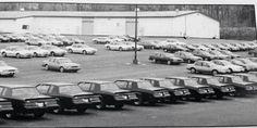 Grand Nationals awaiting sale at a Buick dealership.