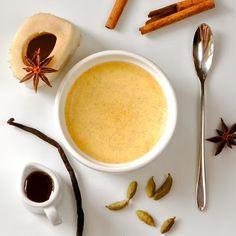 JULES FOOD...: Sweet Spiced Vanilla Bean Bone Marrow Custard