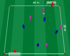 Drunk pitch drill ! Visit soccerdrills.eu to see more. #soccer #drill #drills #soccerdrills #football #training #skill