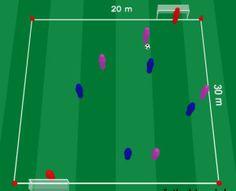 Drunk pitch drill ! Visit soccerdrills.eu to see more. #soccer #drill #drills #soccerdrills #football #training #skill