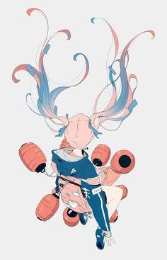 Informations About (notitle) Pin You. Art And Illustration, Character Illustration, Fantasy Kunst, Fantasy Art, Anime Art Girl, Manga Art, Pretty Art, Cute Art, Aesthetic Art