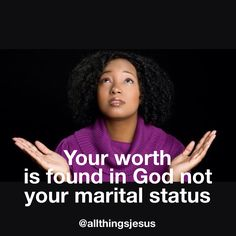 Don't forget to know your worth in the Lord! You are His first and foremost