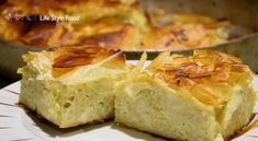 Recipe for macaroni pie. Despite the fact that I come from Messinia, I have to admit that the Roumeli is well known for its pies, like Macaroni Pie. Macaroni Pie, Kinds Of Cheese, Big Bowl, Feta, Camembert Cheese, Oven, Stuffed Peppers, Dishes, Baking
