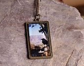 Bird Necklace, Grand Canyon Jewelry, Original Nature Photography Necklace