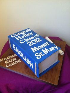 College Grad Cake. #WaterpikgiftsforGrads