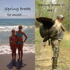 Spring break to most...... Spring break to me....YES YES YES!!