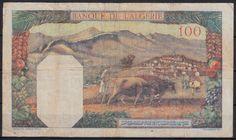 CEZAYİR 100 FRANK 1942.ARKA YÜZÜ