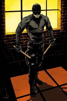 Daredevil concept art from the Marvel Studios original series by Netflix Marvel's Daredevil - Visit to grab an amazing super hero shirt now on sale! Heros Comics, Marvel Comics Art, Marvel Comic Books, Marvel Heroes, Marvel Characters, Comic Books Art, Marvel Avengers, Book Art, Daredevil Artwork