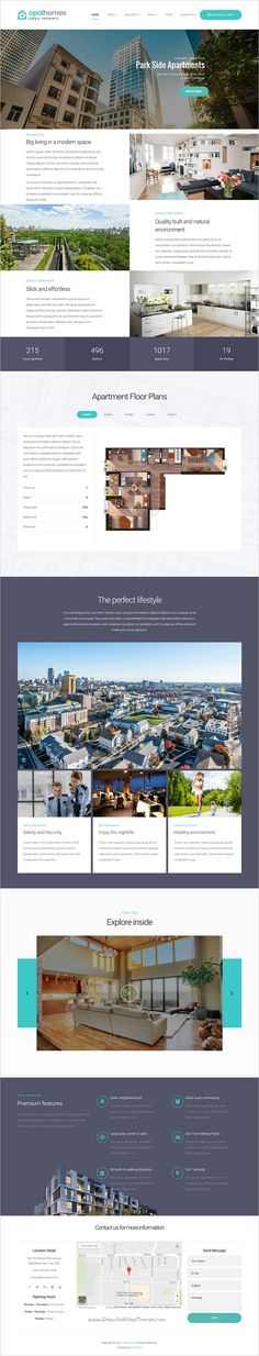 Opalhomes is a wonderful responsive 6in1 #WordPress Theme exclusively built for real estate, single #property sale & #rental websites download now➩ https://themeforest.net/item/opalhomes-single-property-wordpress-theme/19247647?ref=Datasata