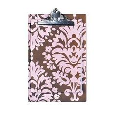 India Pink Chocolate Mini Clipboard      Our Price: $18.00