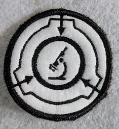 SCP Scientific Department patch Velcro Patches, Sew On Patches, Foundation Logo, Hook And Loop Tape, Scp