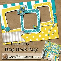 Free Digital Scrapbook Elements: Quick Page Directory Page 4