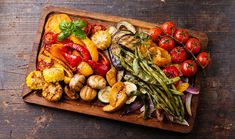 ArtTable | Ψητά λαχανικά με αρωματική σάλτσα βασιλικού