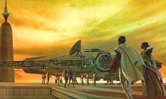 Star Wars Concept Art by Ralph McQuarrie | Abduzeedo Design Inspiration