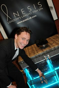 Anesis Fish Spa at Empire Awards | The Art of Being Tom Hiddleston