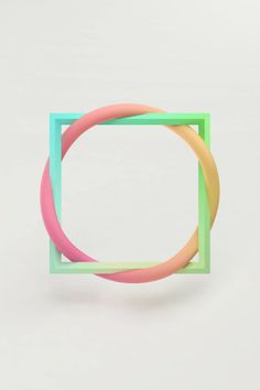 flourescent pastels. Maiko Gubler art.