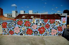 Steen Jones - wall in Fitzroy. Murals, Old School, Packaging, Australia, Tattoo, Paper, Wall, Artwork, House