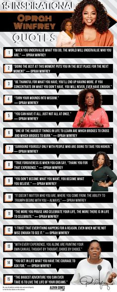 "Oprah Winfrey Net Worth How Did Oprah Make Money? Truth - Oprah Winfrey Quotes Infographic: Oprah Gail Winfrey is best known for her talk show ""The Oprah W - # Oprah Quotes, Success Quotes, Life Quotes, Oprah Winfrey Show, Oprah Winfrey House, Awakening Quotes, Spiritual Awakening, Stay Strong Quotes, Mom Prayers"