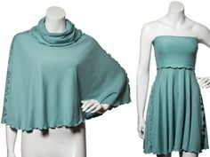 Convertible Dresses from Angelrox - this is the coolest convertible dress ever! Wish they made larger sizes than 10, though. Very cool video shows all the ways to wear it