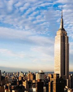 The Empire State Building rises majestically from the heart of Manhattan. The building's 86th floor observatory, 1,050 feet above the street, has dazzled visitors since 1931.