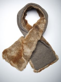 Faux Fur Pull Through Muffler by Hat Attack on Gilt.com