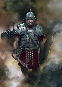 Soldier of Rome Ancient Rome, Ancient History, Imperial Legion, Roman Armor, Roman Sword, Rome Antique, Roman Warriors, Roman Legion, Greek Warrior