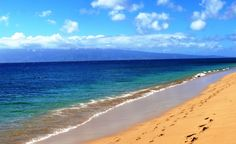 No list of beautiful beaches would be complete without Kaanapali, on Maui, near the thriving main street of Lahaina, HI. (From: 12 Beautiful Beach Town Bargains for FALL 2014)