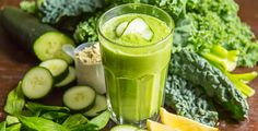 Ultimate Green Smoothie! 8 servings of greens!
