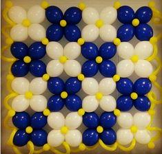 Ideas para decorar una pared de globos
