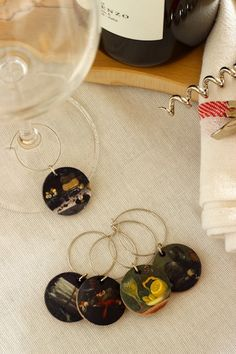 DIY Mini Masterpiece Wine Charms OSBP 1 DIY Tutorial: Mini Masterpiece Wine Charms