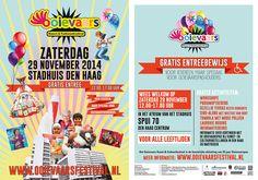 6000 Haagse stadspashouders bezochten het Ooievaarsfestival op 29 november 2014