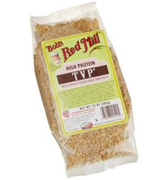 Great Recipes with TVP (Textured Vegetable Protein)? (You can make TVP in the microwave) Tvp Recipes, Gourmet Recipes, Low Carb Recipes, Great Recipes, Whole Food Recipes, Snack Recipes, Healthy Recipes, Healthy Foods, Protein Recipes