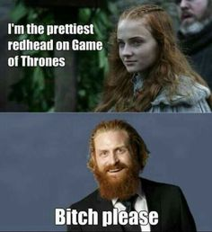 Dream on Sansa. Game of thrones funny humour meme. Sansa Stark and Tormund Game Of Thrones Meme, Khal Drogo, Got Memes, Funny Memes, Hilarious, Funny Videos, Funny Humour, Game Of Throne Lustig, Breaking Bad