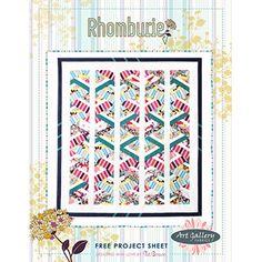 Rhomburie- Free quilt pattern