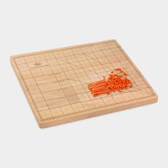 The Obsessive Chef   A cutting board for the perfectionist, it includes precise measurements to ensure your cuts are exact.