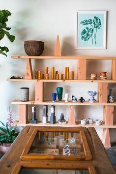 Local Gem: Dream Collective In Los Angeles - love that shelf #furniture_design