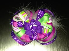 Hair bow for bella