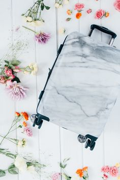 CALPAK MARBLE LUGGAGE! The chicest luggage collection!