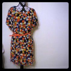 Dress Great multi print dress fits beautifully size 14 Dresses