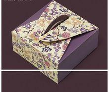 Envasado de panadería, cajas de torta, cajas de galletas, caja portátil, huevo tartas caja de 4(China (Mainland))