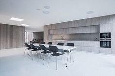 Ludovic Schober Architectes | Valais | Martigny, Sierre, Sion Conference Room, Table, Furniture, Home Decor, Decoration Home, Room Decor, Meeting Rooms, Tables, Home Furnishings
