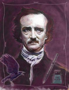 Edgar Allan Poe - Art by Jim McDermott