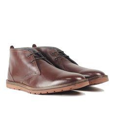 Another great find on #zulily! Ben Sherman Dark Brown Olivier Leather Chukka Boot by Ben Sherman #zulilyfinds