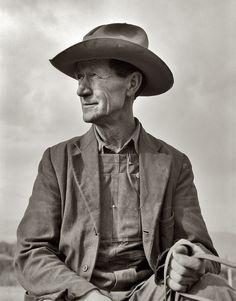 Idaho Farmer, 1939, a photo by Dorothea Lange