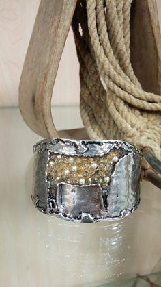 Hammered Steer Bracelet
